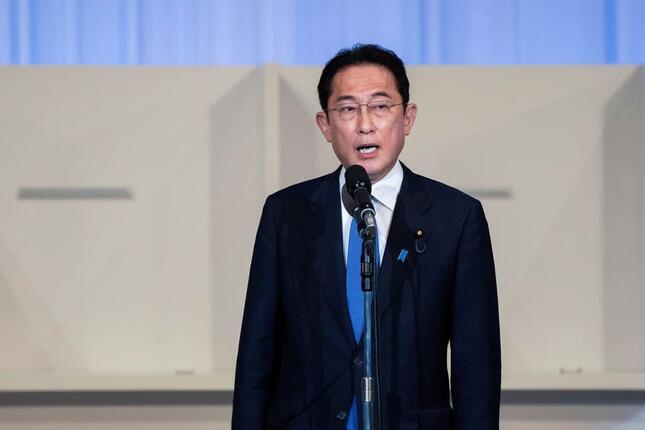 自民党の新総裁に選ばれた岸田文雄氏。海外メディアも相次いで速報した(写真:代表撮影/ロイター/アフロ)