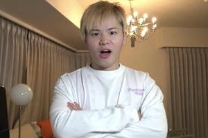 【写真】猗窩座に扮する那須川さん