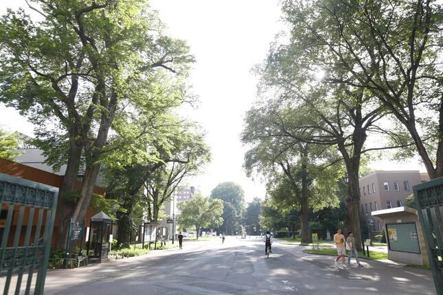 北海道大札幌キャンパス(写真:アフロ)