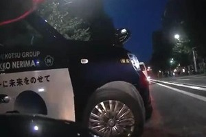 タクシー危険運転で「殺されかけた」 ドラレコ映像が波紋、日本交通が謝罪「再発防止に努める」