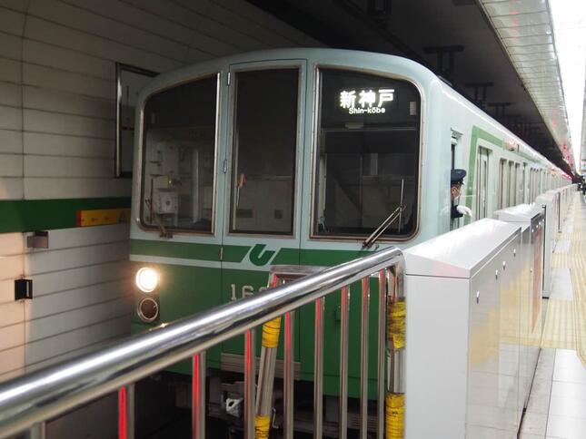 【写真】神戸市営地下鉄三宮駅