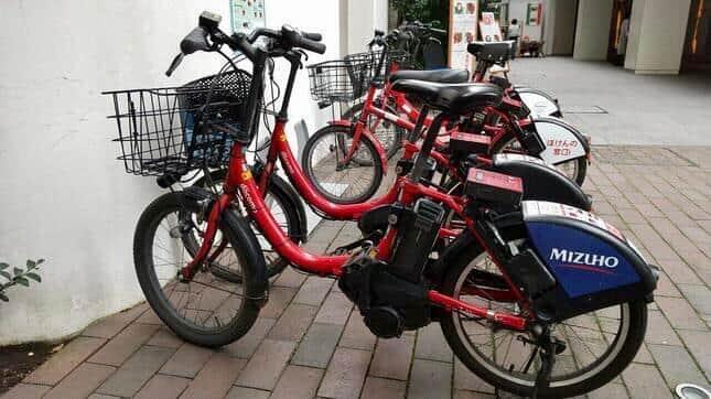 ドコモバイクシェアの自転車