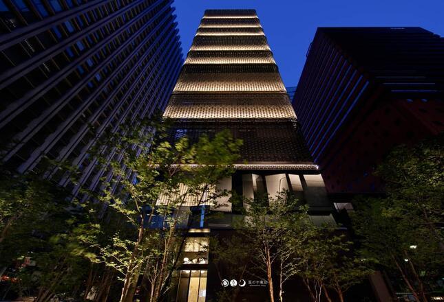 日本旅館「星のや東京」(提供:星のや東京)