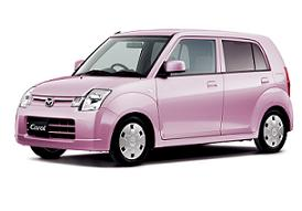 マツダが販売する軽自動車「キャロル」。すべての軽自動車はスズキからOEM調達している