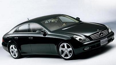 ダイムラー・クライスラー日本が発売した「CLS 550」