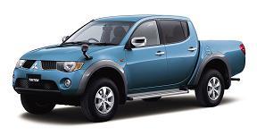 三菱自動車が発売した「トライトン」
