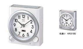 精工钟表公司出品的指针式电波闹钟