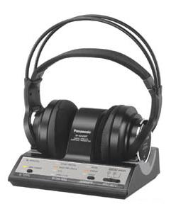 松下電器産業が発売するデジタルワイヤレスサラウンドヘッドホンRP-WF6000