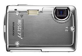 オリンパスが発売するコンパクトデジタルカメラ「μ 725SW」