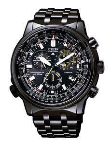 シチズン時計が発売する「プロマスター」SKYシリーズ エコ・ドライブ 電波時計クロノグラフ