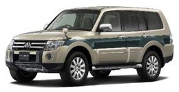 三菱自動車が発売した『パジェロ』(ロングボディ SUPER EXCEED)
