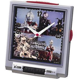 セイコークロックが発売するウルトラマンシリーズの誕生40周年を記念した目ざまし時計(C)円谷プロ