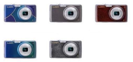 松下電器産業が発売するコンパクトデジタルカメラLUMIX の「漆」モデル