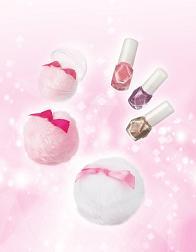 資生堂が化粧惑星ブランドで発売する「フェース&ボディーパウダー」と「ネールエナメル」