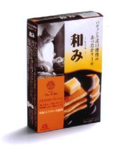 森永製菓が発売するホットケーキミックス「パティシエ辻口博啓のあったかケーキ 和み」