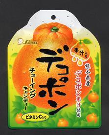ライオン菓子が発売する「デコポンチューイングキャンディー」