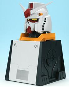 バンダイビジュアルが発売する「機動戦士ガンダムDVD-BOX RX-78-2ヘッド付限定版」