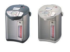タイガー魔法瓶が発売する「とく子さん」PVS-A型(左)とPVP-A型(右)