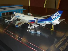 全日空商事が発売した貨物機の模型