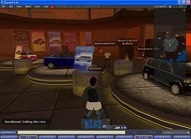 「Toyota Scion City」では実際にトヨタ車の試乗が可能だ