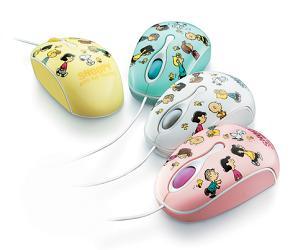 コクヨが発売する「キャラクターマウス<スヌーピー>」
