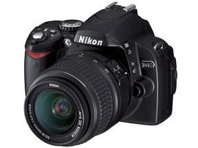 ニコンが発売するデジタル一眼レフカメラ「ニコンD40」