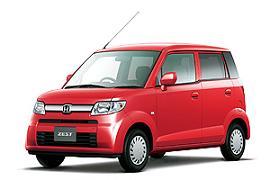 """本田公司部分翻新并发售的微型车""""ZEST""""。"""