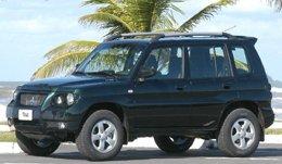 三菱自動車がブラジル市場に投入するフレックス車「パジェロ TR4 Flex」