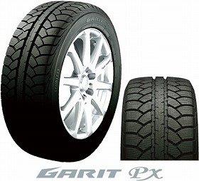 東洋ゴム工業が発売するスタッドレスタイヤ「GARIT px(ガリット・ピーエックス)」