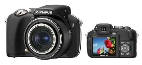 オリンパスイメージングが発売するコンパクトデジタルカメラ「CAMEDIA SP-560UZ」