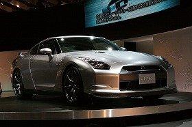 東京モーターショーで公開された「GT-R」