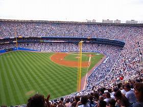 結婚が話題の松井秀喜さんが活躍するニューヨークのヤンキースタジアム