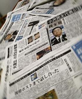 党首会談をめぐる報道に小沢代表は「朝日・日経以外は誹謗中傷報道」と「ブチ切れた」