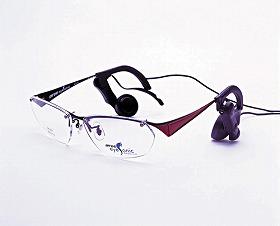 ビジョンメガネが発売する骨伝導スピーカーつきメガネ「MYDO eyeSonic」