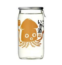 宝酒造から発売。松竹梅「いか酒」180ml壜カップ