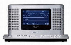 オリンパスイメージングが発売するHDD内蔵ラジオレコーダー「ラジオサーバー VJ-10-JB」
