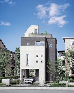 耐震システムを標準装備した3階建て戸建住宅販売へ  三洋ホームズ