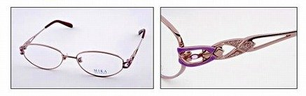 京セラとコラボでジュエリーフレームのメガネ「池坊美佳」販売 福井めがね工業