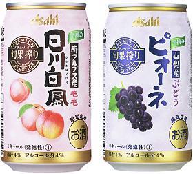 """具有浓厚柔和甜味儿的""""日川白桃""""和可以享受到甜味儿与适当酸味的""""黑葡萄"""""""