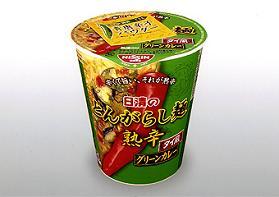 タイ風グリーンカレーをイメージしたスープの新カップ麺