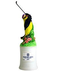 「サントリーウイスキー ローヤルプレミアム15年 サントリーオープン2007記念陶製ボトル」