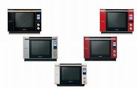シャープからオーブン「ヘルシオ」の4代目となる3機種を新発売