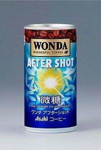 アサヒ飲料がリニューアル発売する「ワンダ アフターショット 缶190g」