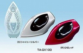 東芝から「高速電磁ポンプ」を内蔵したスチームアイロン「TA―GX100」