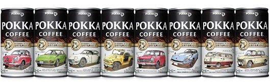 ポッカから「第40回東京モーターショー2007 開催記念缶」を発売