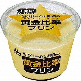 ナムコと森永乳業が共同開発した「黄金比率プリン」