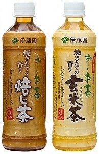 国産うるち米をじっくり焙煎 「お~いお茶 焼きたての香り 玄米茶」伊藤園