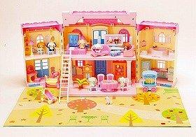 楽しく遊び想像力も豊かに ハローキティの住むドールハウス サンリオから発売