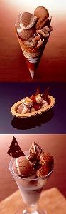 チョコレートアイスにナッツやベリーの組み合わせ  「冬のチョコレートフェア」ハーゲンダッツ