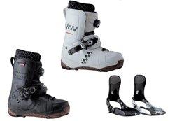 ヨネックスから踏み込むだけで装着できるスノーボードブーツ